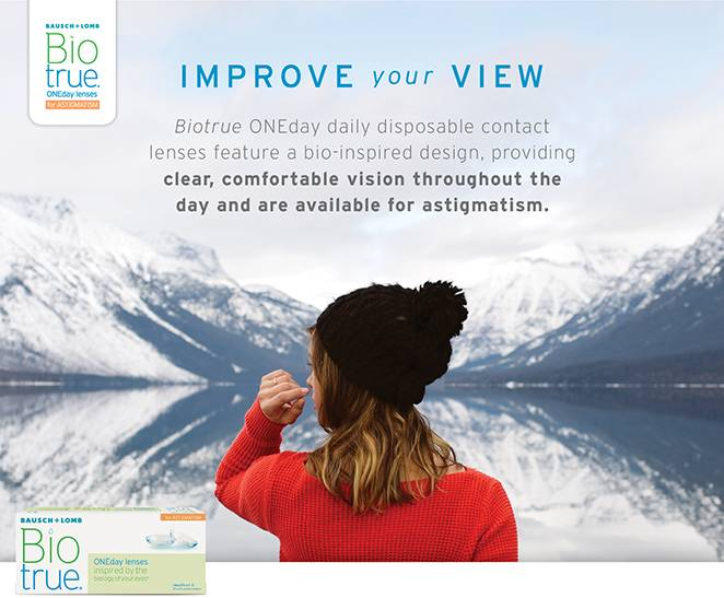 Biotrue 1day astigmatism with text